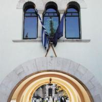 Detail van het Byzantijns Museum
