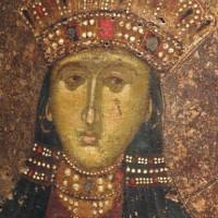 Portret in het Byzantijns Museum