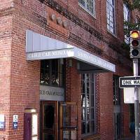 Ingang van het Cable Car Museum