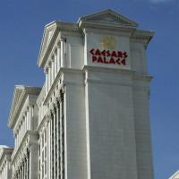 Zijkant van Caesars palace