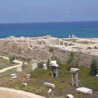Zeezicht bij Caesaria