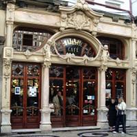 Deur van het Café Majestic