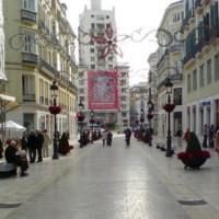 Overzicht van de Calle Larios