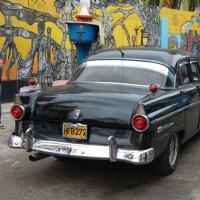 Auto in de Callejón de Hamel