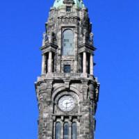 Toren van de Câmara Municipal do Porto