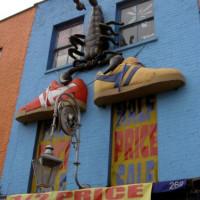 Schoenwinkel in Camden Town