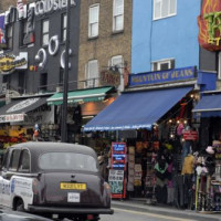 Straatbeeld in Camden Town