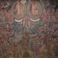 Fresco in het Camposanto Monumentale