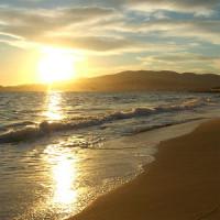 Strand op Palma Mallorca