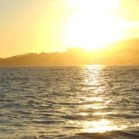 Zon boven Mallorca