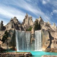 Waterval in Canada's Wonderland