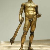 Standbeeld aan de Capitolijnse musea