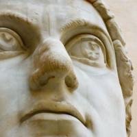 Standbeeld in Rome