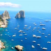 Jachten voor Capri