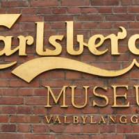 Naambord van de Carlsbergbrouwerij