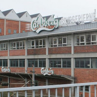 Aan de Carlsbergbrouwerij