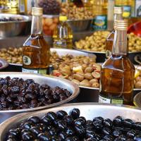 Producten op de Carmel Markt