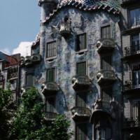 Totaalbeeld van het Casa Batlló