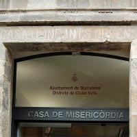 Naamplaatje van het Casa de la Misericòrdia