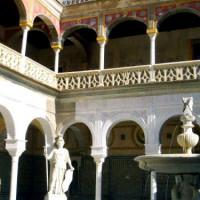 Binnenplein van het Huis van Pilato