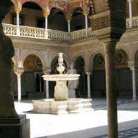 Fontein in het Huis van Pilato