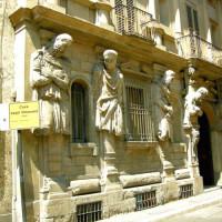 Gevel van het Casa degli Omenoni
