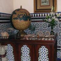 Binnen in het Casa Andalusí