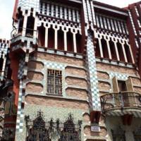 Gevel van het Casa Vicens