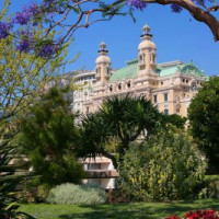 Planten in de Monte Carlo Casinotuinen