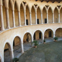 Binnenplein van Castell de Bellver