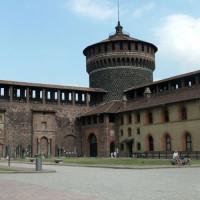 Toren van het Castello Sforzesco