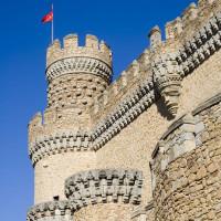 Beeld van het Castillo de los Mendoza