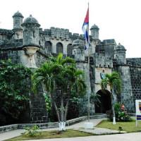 Poorten van het Castillo del Principe