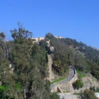 Zicht op het Castillo de Gibralfaro