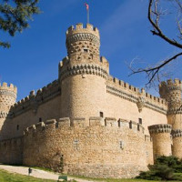 Hoek van het Castillo de los Mendoza