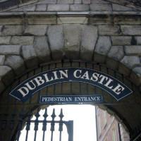 Poort van het Dublin Castle