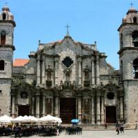 Voorkant van de Catedral de San Cristóbal