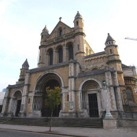 Voorgevel van Belfast Cathedral