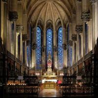 Binnenkant van de Cathédrale de Notre Dame de la Treille