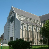 Voorgevel van Cathédrale Notre Dame de la Treille