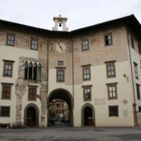 Overzicht van het Palazzo dei Cavalieri