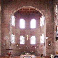 Binnenkant van Constantijnbasiliek