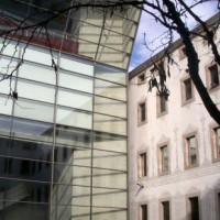 Glazen gevel van het CCCB