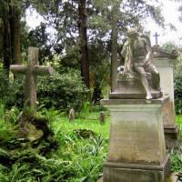 Grafstenen op het Engels kerkhof