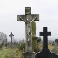 Grafsteen op Milltown Cemetery