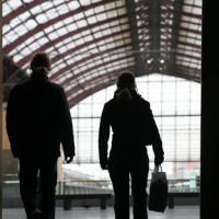 Reizigers in Antwerpen-Centraal
