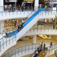 Roltrappen in CentralWorld
