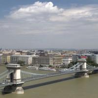 Totaalbeeld van de Kettingbrug