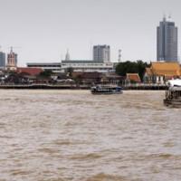 Uitzicht over de Chao Phraya