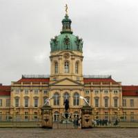 Voorkant van het Schloss Charlottenburg